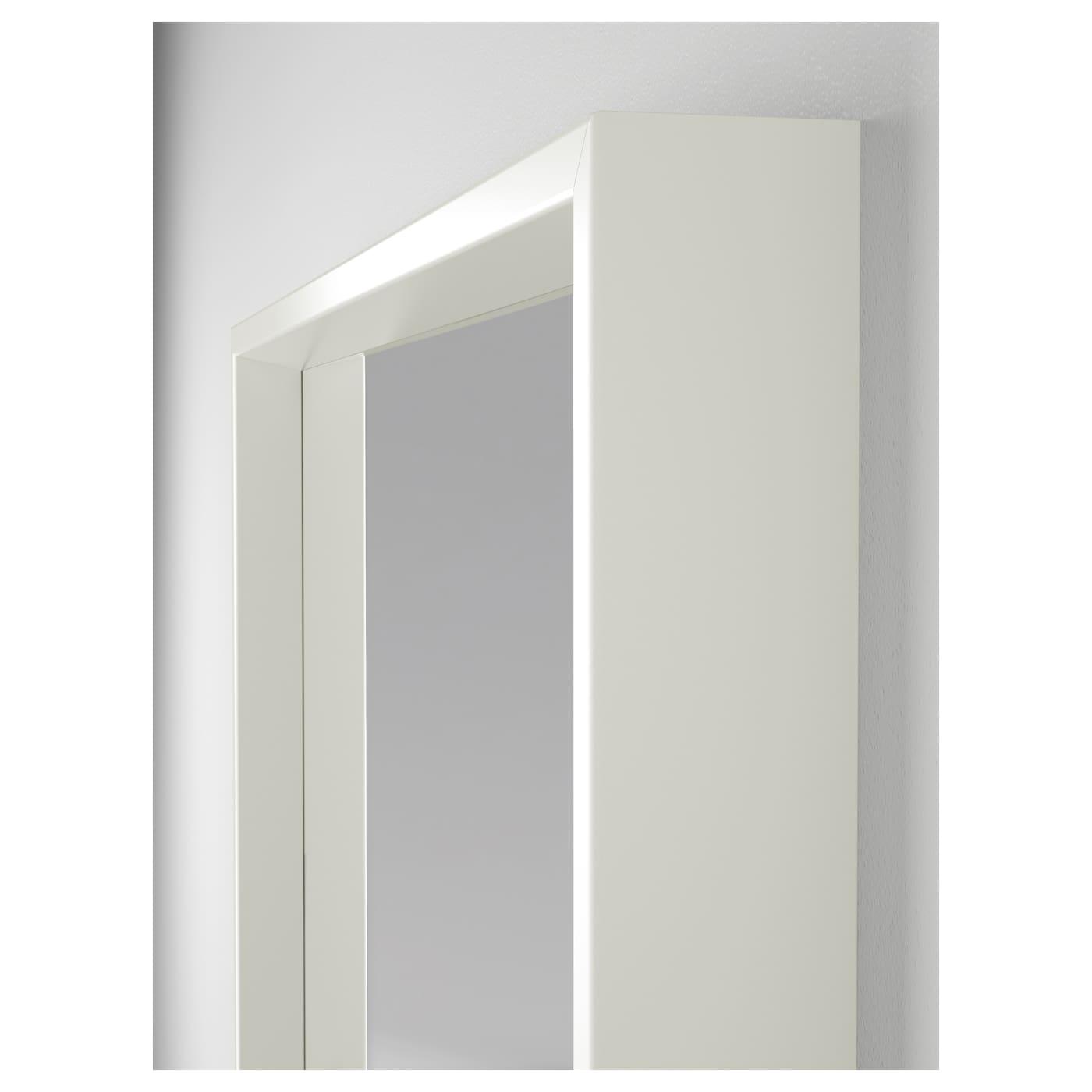 Nissedal spiegel wit 65x65 cm ikea for Spiegel ikea