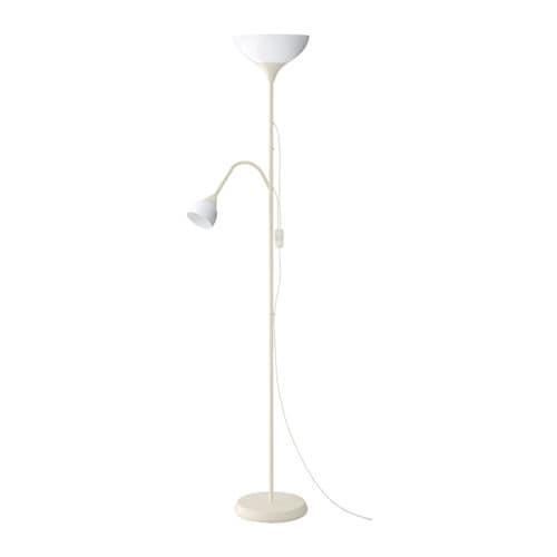 Extreem NOT Staande lamp uplight/leeslamp Wit/wit - IKEA PR39