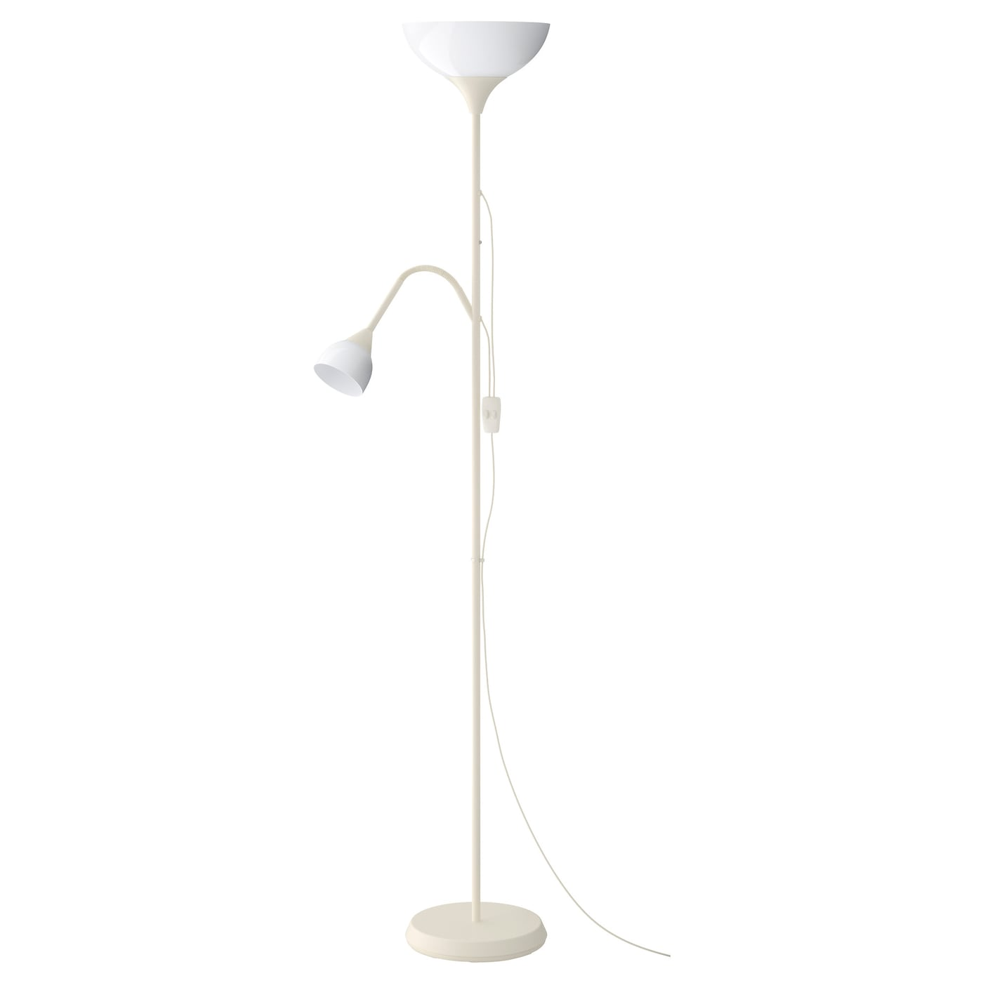 IKEA NOT staande lamp uplight/leeslamp
