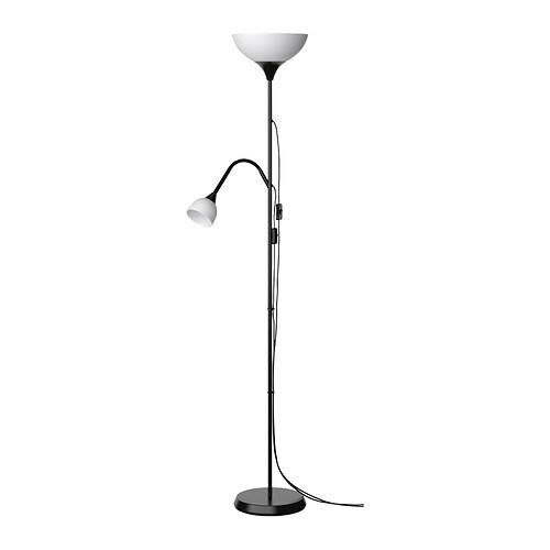 not staande lamp uplight leeslamp ikea. Black Bedroom Furniture Sets. Home Design Ideas