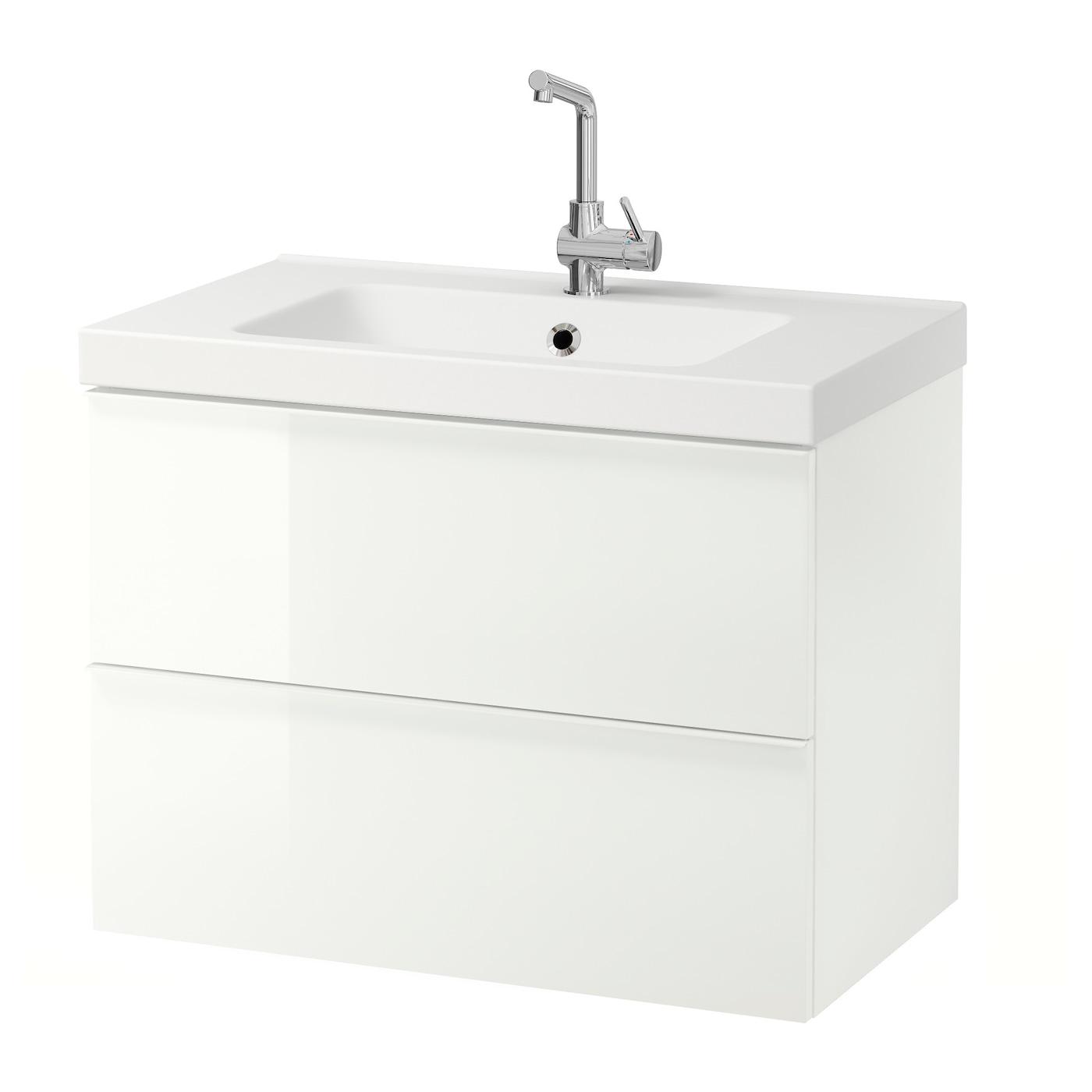 IKEA ODENSVIK GODMORGON kast voor wastafel met 2 lades