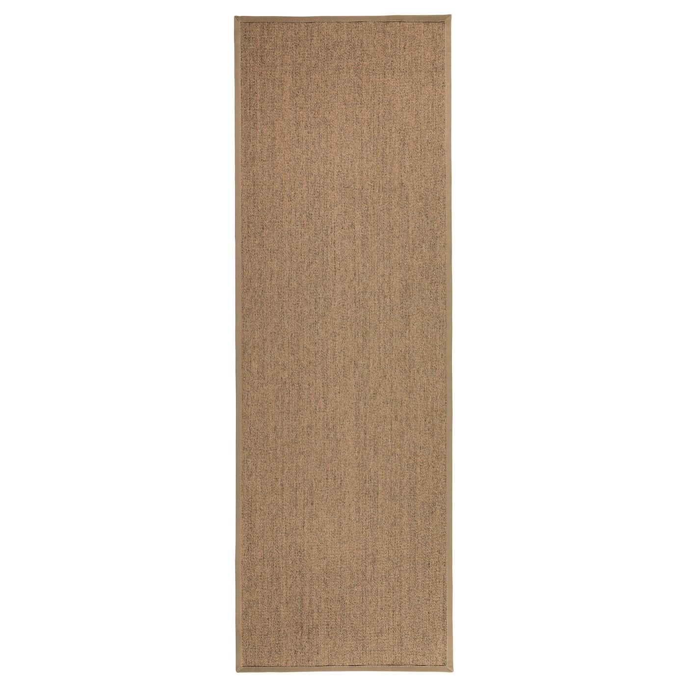 osted vloerkleed glad geweven naturel 80 x 240 cm ikea. Black Bedroom Furniture Sets. Home Design Ideas