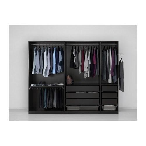 PAX Garderobekast   250x58x201 cm   IKEA