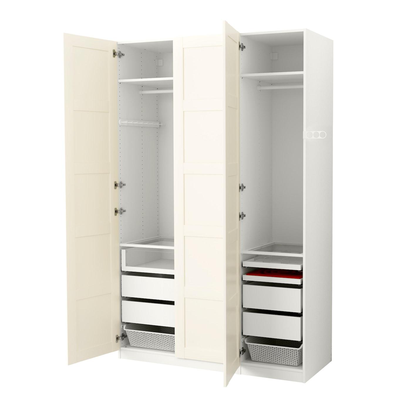 pax kledingkast wit bergsbo wit 150x60x236 cm ikea. Black Bedroom Furniture Sets. Home Design Ideas