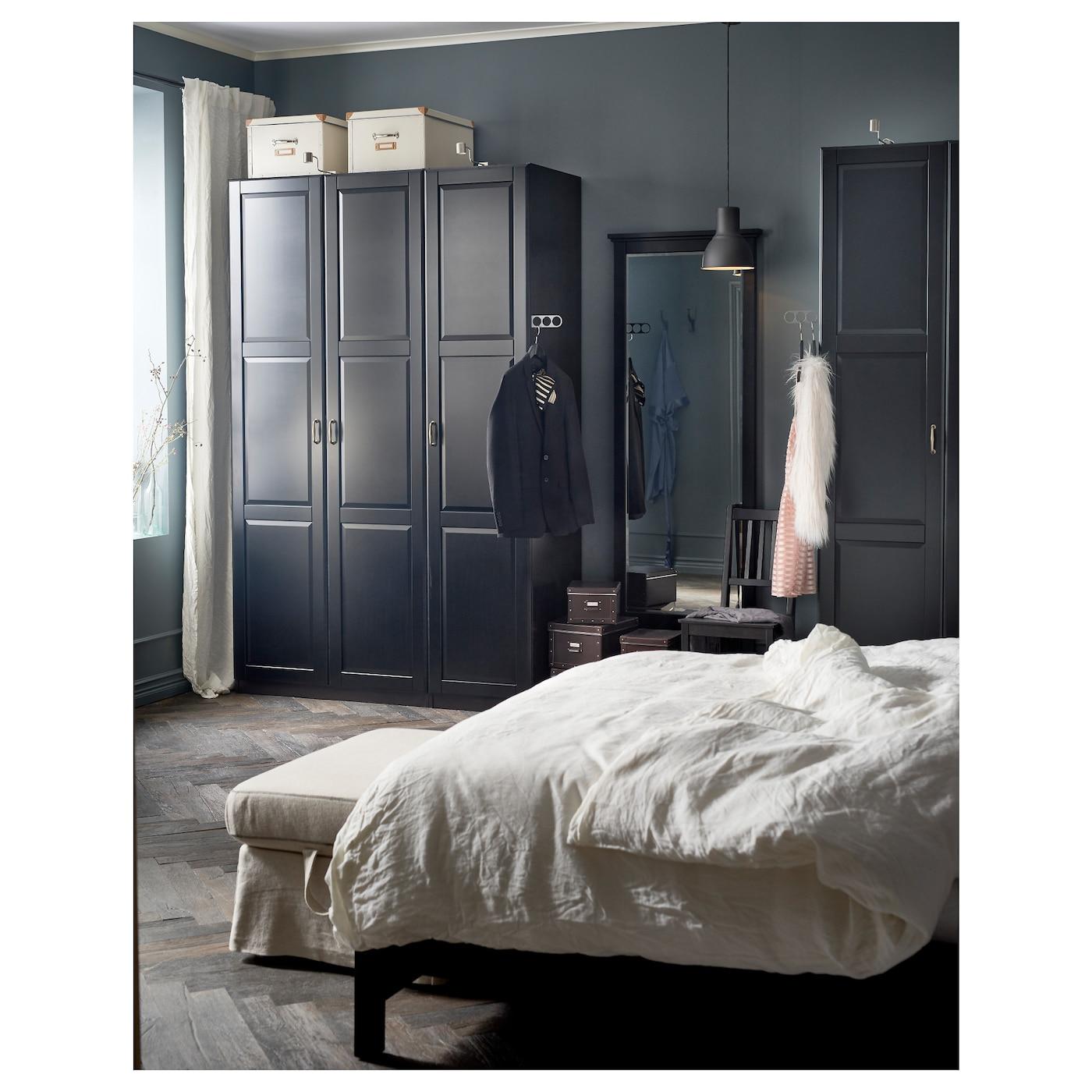 pax kledingkast zwartbruin undredal zwart 150 x 60 x 236 cm ikea. Black Bedroom Furniture Sets. Home Design Ideas
