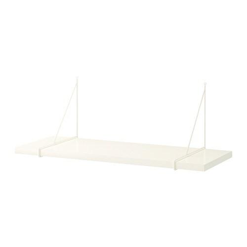 Wandplank 30 Cm.Pershult Bergshult Wandplank Wit Wit 80 X 30 Cm Ikea