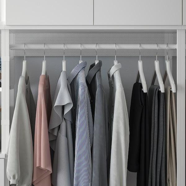 PLATSA Opbergcombi met 6 deuren + 2 lades, wit/Fonnes wit, 420x42x241 cm