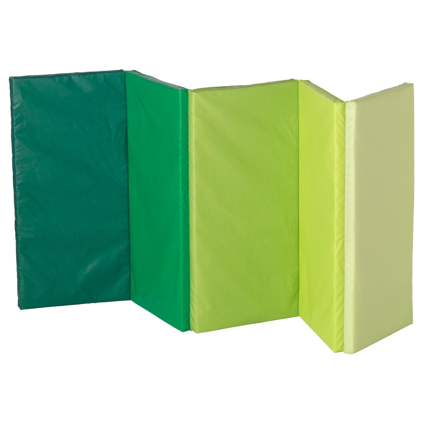 Plufsig Gymnastiekmat Opvouwbaar Groen 78 X 185 Cm Ikea