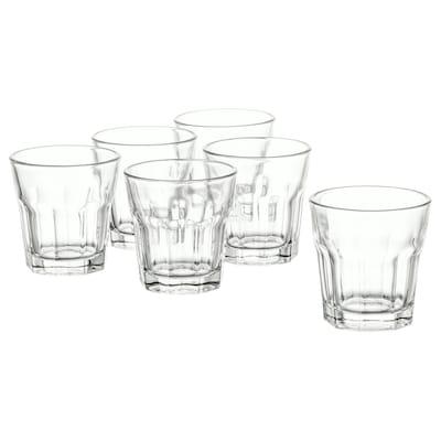 POKAL borrelglaasje helder glas 5 cm 5 cl 6 st.