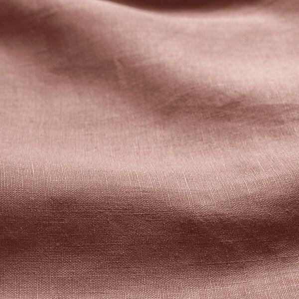 PUDERVIVA Dekbedovertrek en 2 kussenslopen, donkerroze, 240x220/50x60 cm