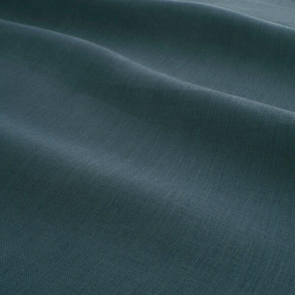 PUDERVIVA Dekbedovertrek en kussensloop, donkerblauw, 150x200/50x60 cm