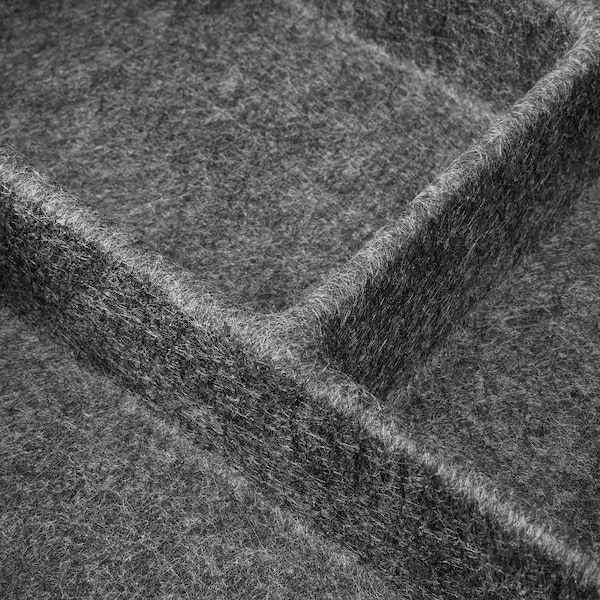 RAGGISAR Lade-inzet, donkergrijs, 20x30 cm