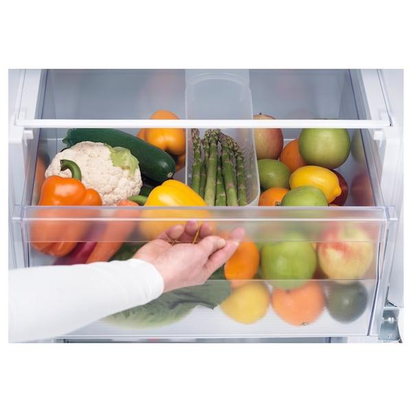 RÅKALL Inbouw koelkast / vriezer A+, wit, 152/79 l