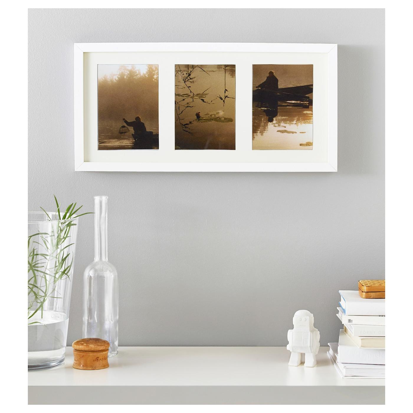 Ribba fotolijst wit 50 x 23 cm ikea for Cornice poster 61x91
