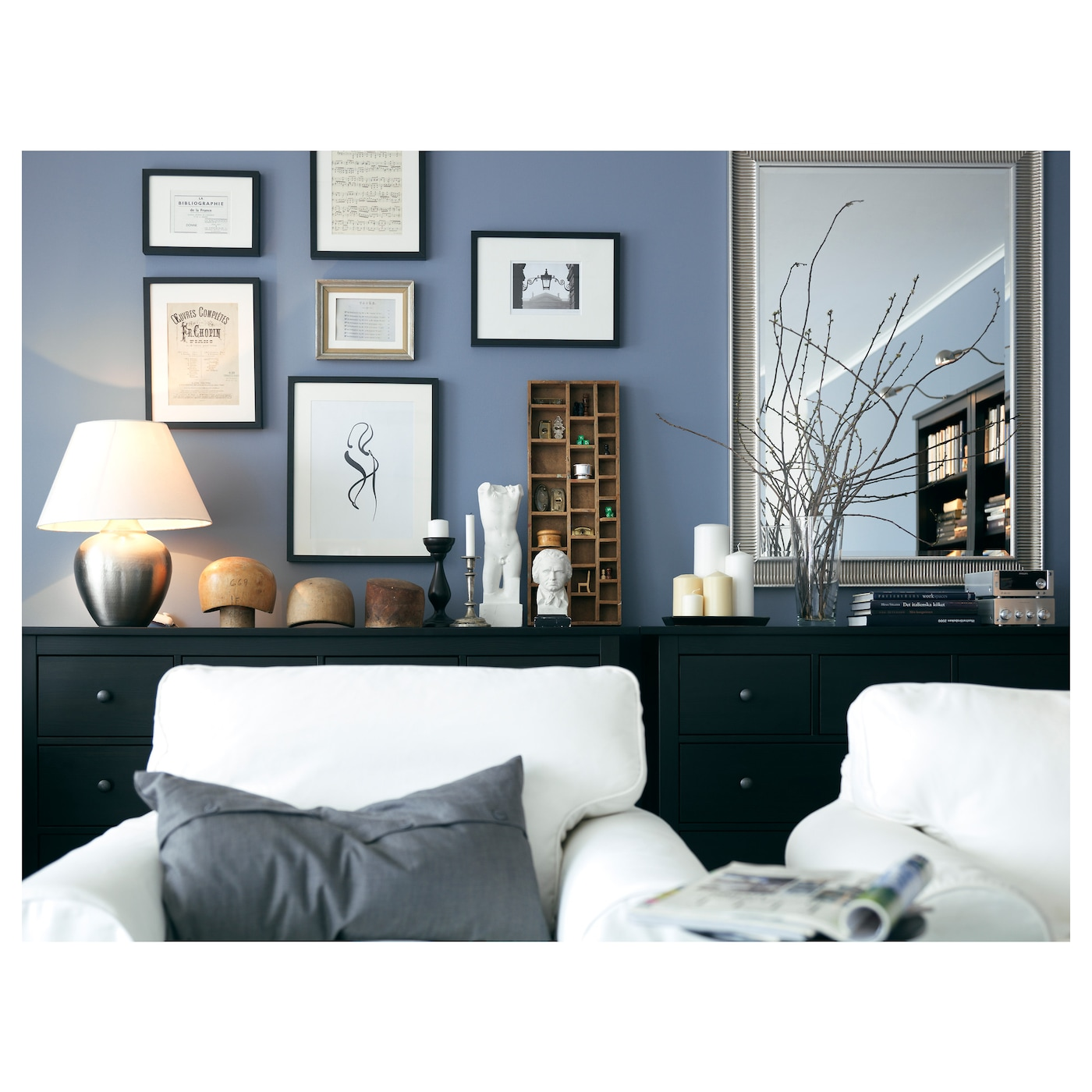 ribba wissellijst zwart 21x30 cm ikea. Black Bedroom Furniture Sets. Home Design Ideas