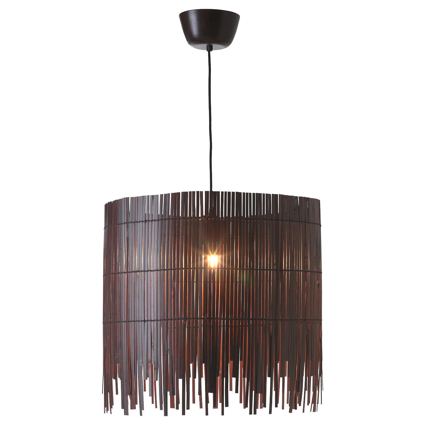 Genoeg ROTVIK Hanglamp Bamboe/bruin - IKEA @KX66