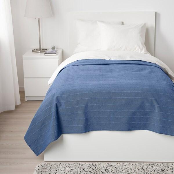 SKÄRMLILJA Sprei, blauw, 150x250 cm