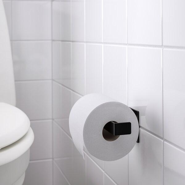 SKOGSVIKEN Toiletpapierhouder, zwart