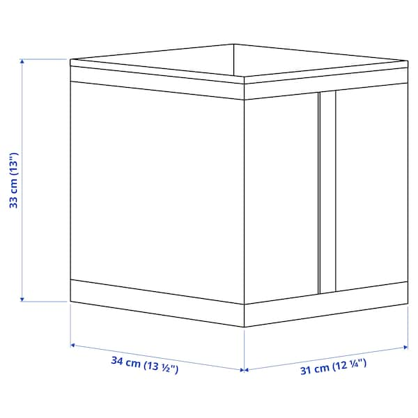 SKUBB Bak, wit, 31x34x33 cm