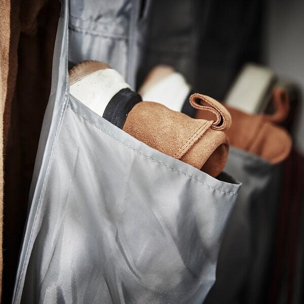 SKUBB Hangende schoenenopberger m 16 vak, donkergrijs