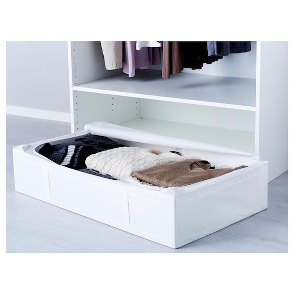SKUBB Opbergtas, wit, 93x55x19 cm