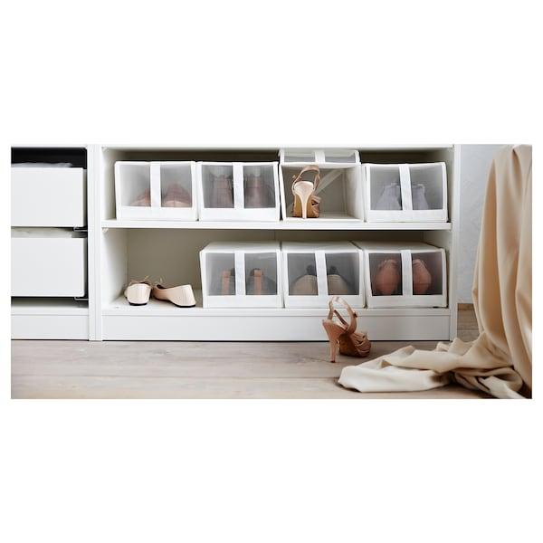 SKUBB Schoenendoos, wit, 22x34x16 cm