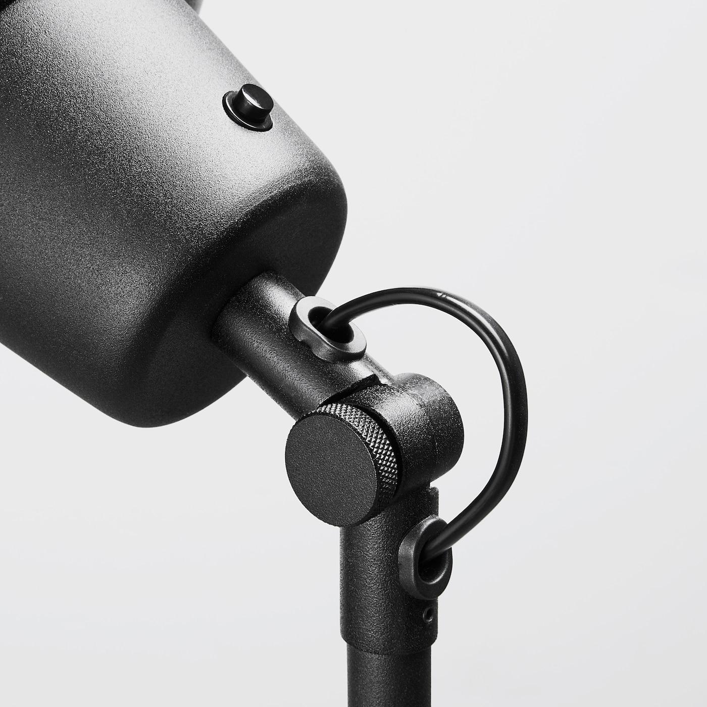 SKURUP Tafel-/wandlamp uplight - zwart