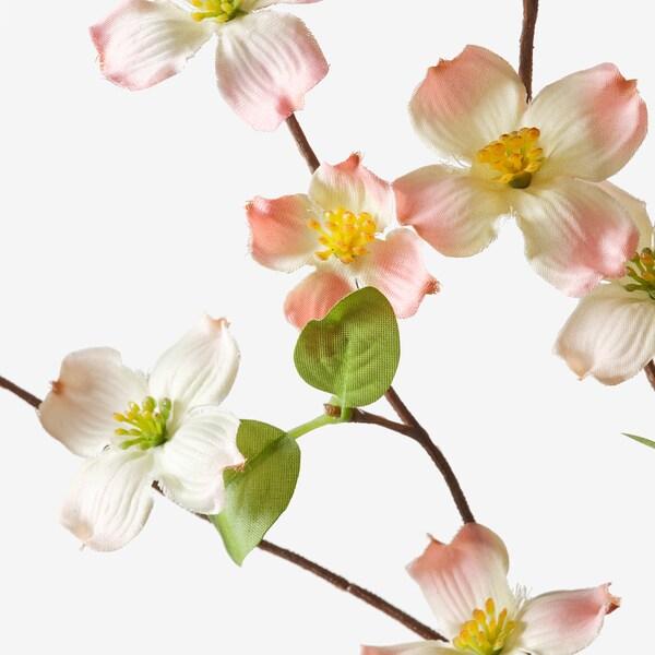 SMYCKA Kunstbloem, binnen/buiten/Kornoelje roze, 56 cm