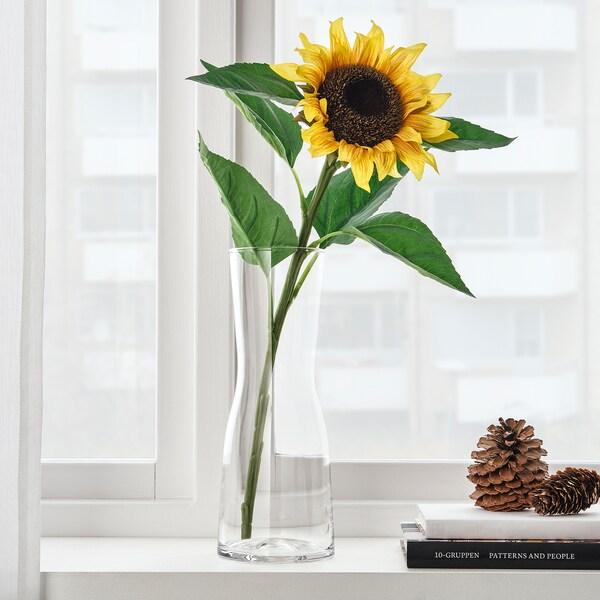 SMYCKA Kunstbloem, zonnebloem geel, 51 cm