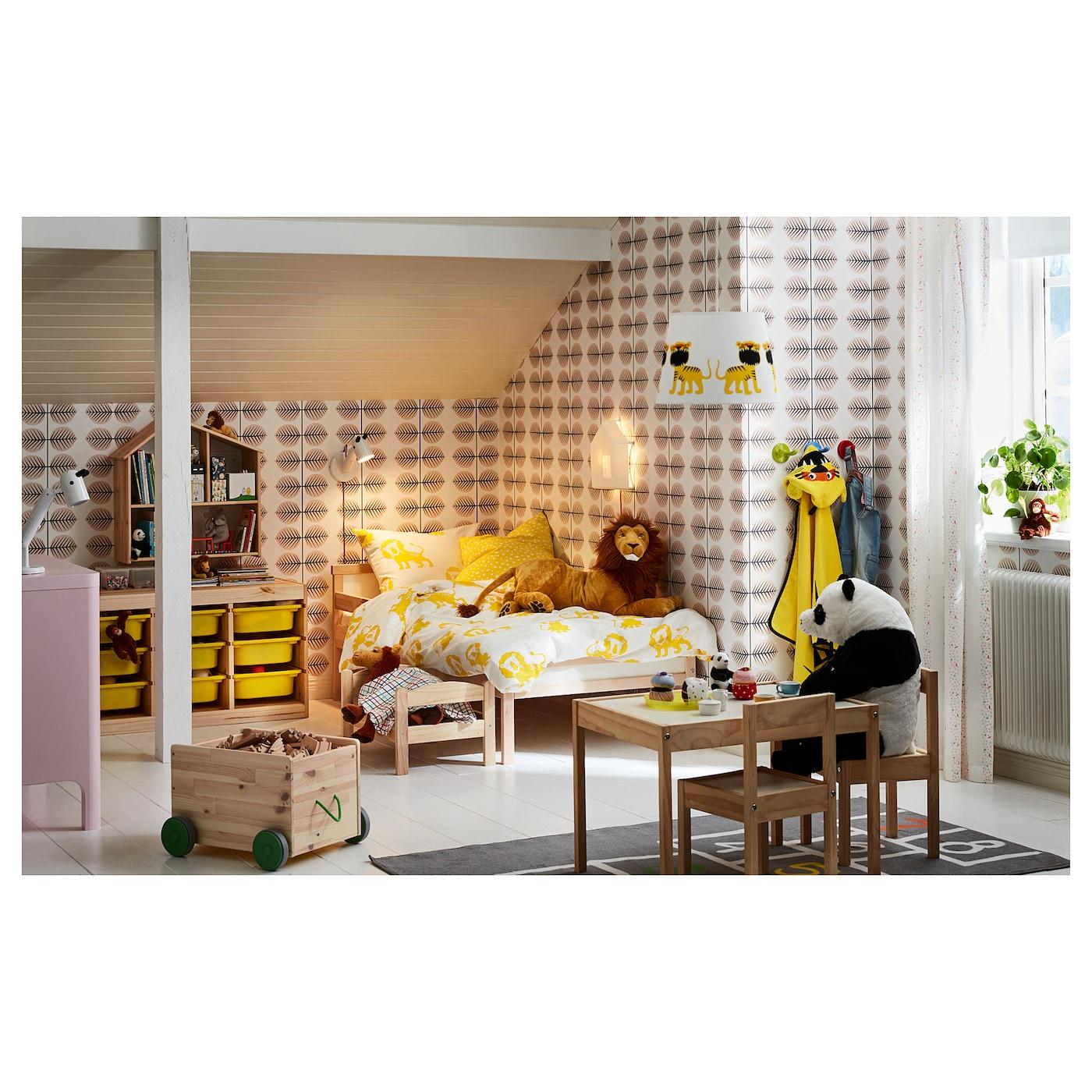 Wanneer Naar Peuterbed.Sniglar Peuterbed Met Lattenbodem Beuken 70 X 160 Cm Ikea