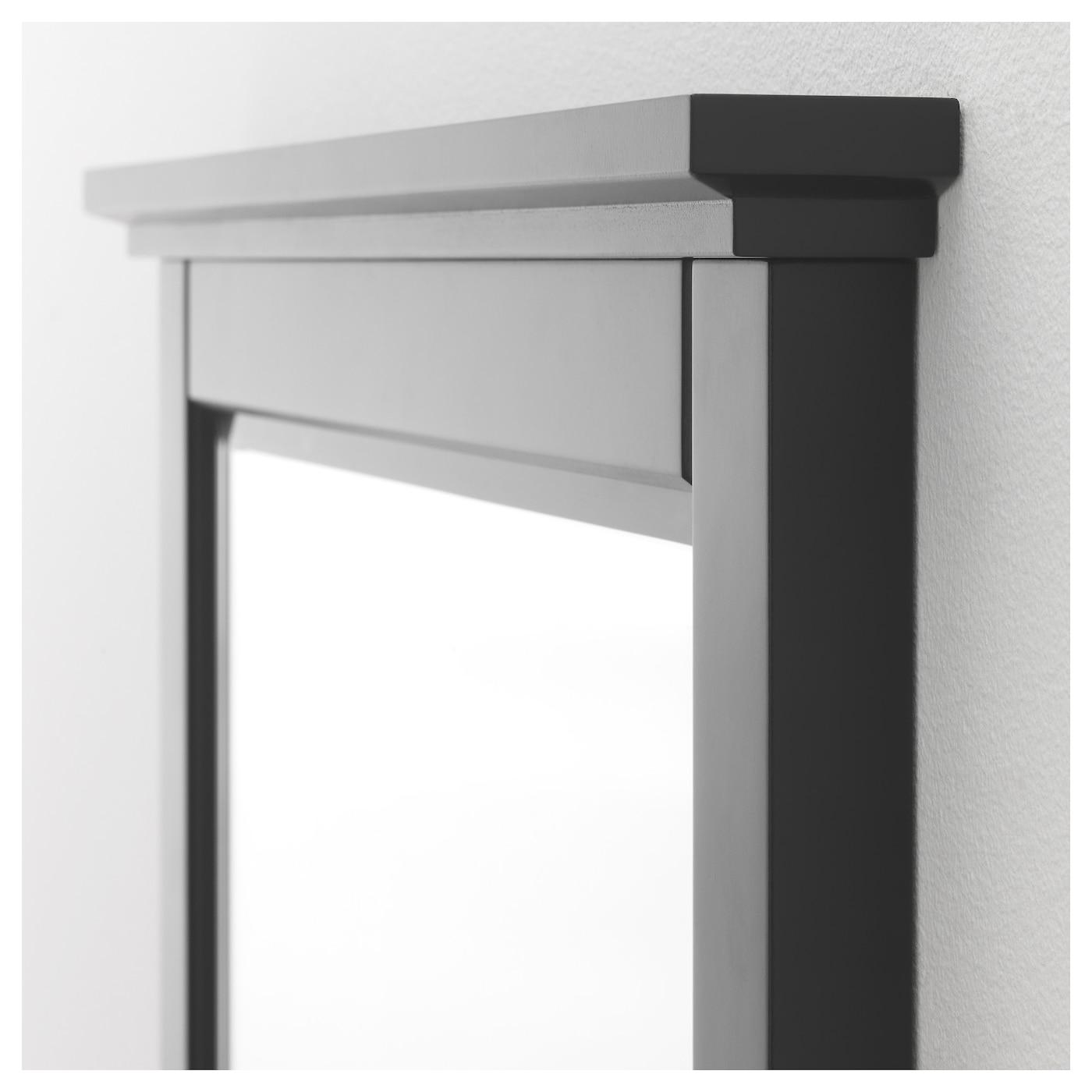 Soknedal spiegel zwart 60x80 cm ikea for Badkamer spiegel 60x80