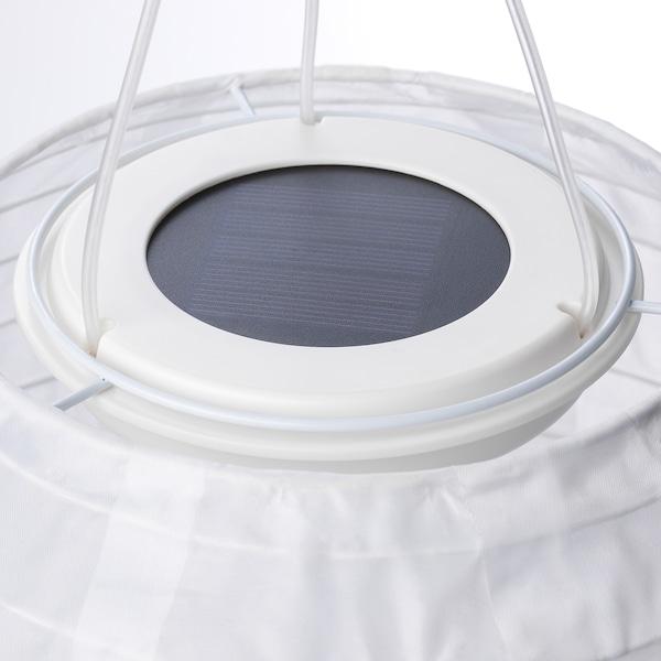SOLVINDEN Led-plafondlamp op zonnecellen, buiten/globe wit, 22 cm