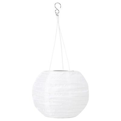 SOLVINDEN led-plafondlamp op zonnecellen buiten/globe wit 3 lumen 22 cm 19 cm 19 cm