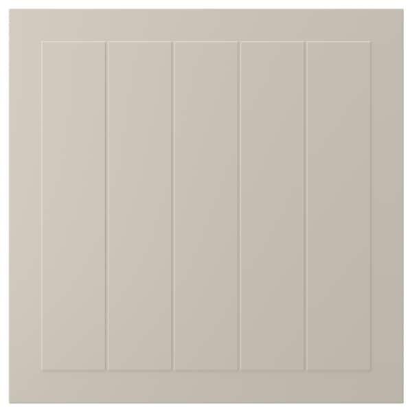 STENSUND Deur, beige, 60x60 cm