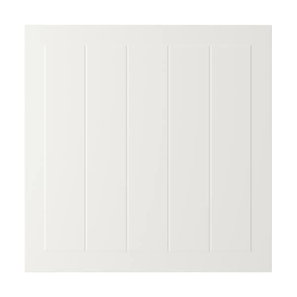 STENSUND Deur, wit, 60x60 cm