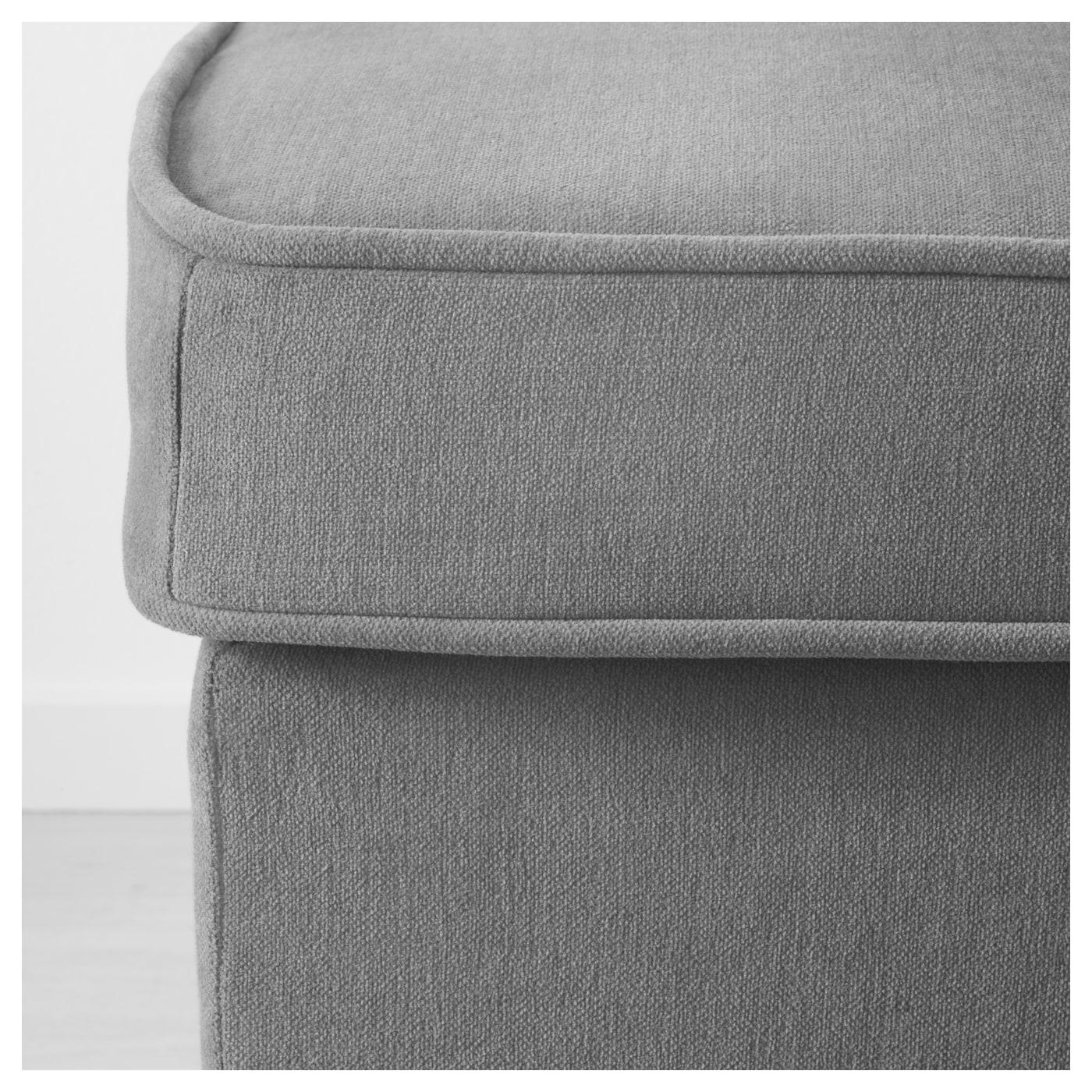 Stocksund bankje ljungen grijs zwart hout ikea for Ikea ladeblok hout