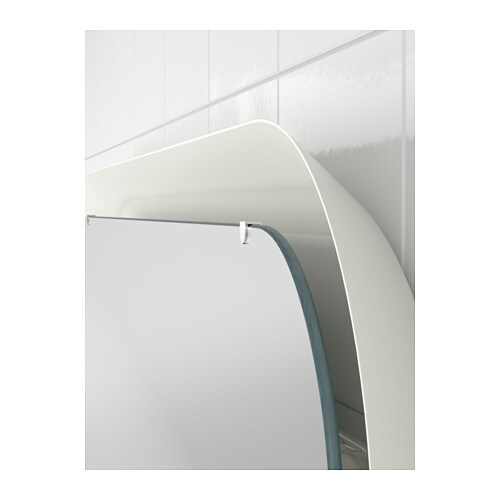 STORJORM Spiegel m geïntegreerde verlichting Wit 80x60 cm - IKEA