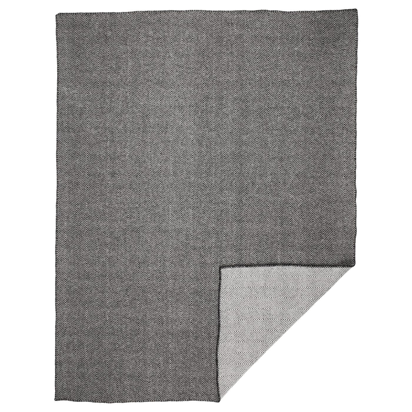 striml nn plaid grijs 150x200 cm ikea. Black Bedroom Furniture Sets. Home Design Ideas