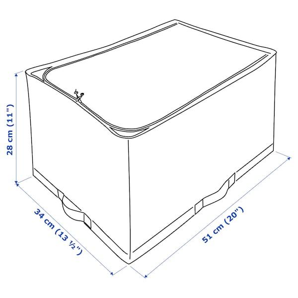 STUK Opbergtas, wit/grijs, 34x51x28 cm