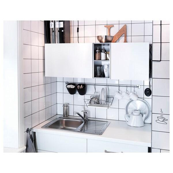 SUNDSVIK Keukenmengkraan eengreeps, verchroomd