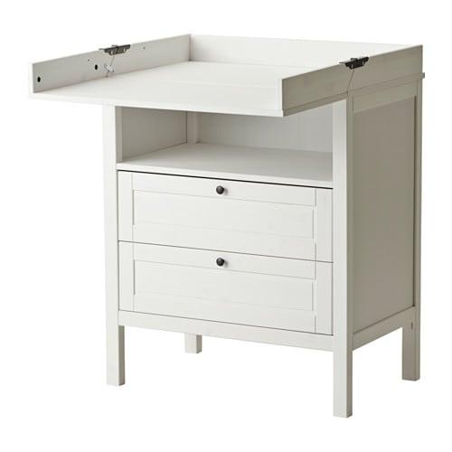sundvik commode ladekast wit ikea. Black Bedroom Furniture Sets. Home Design Ideas