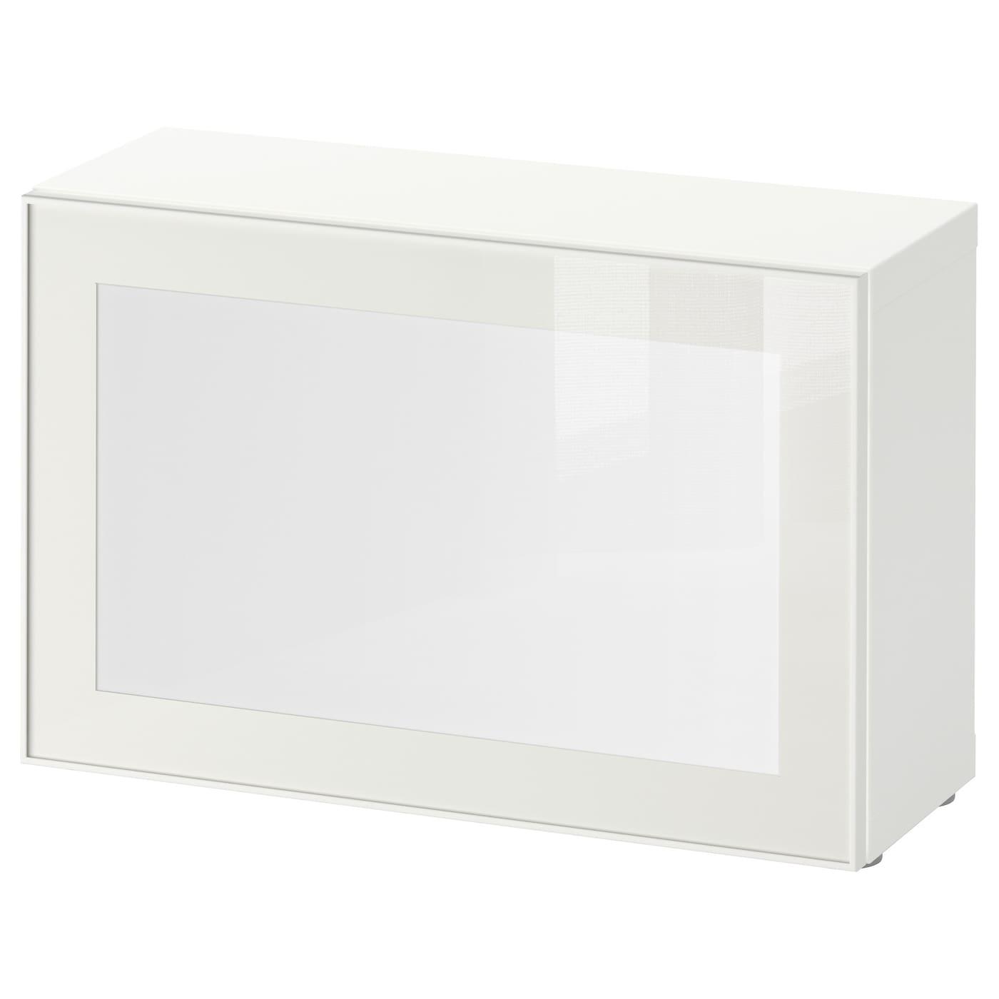 surte best open kast met led lichtdeur wit wit 60 x 20 x 38 cm ikea. Black Bedroom Furniture Sets. Home Design Ideas