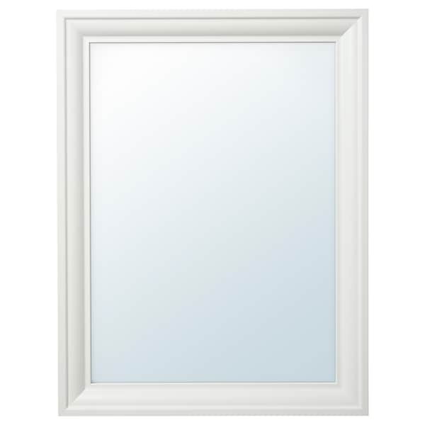TOFTBYN Spiegel, wit, 65x85 cm