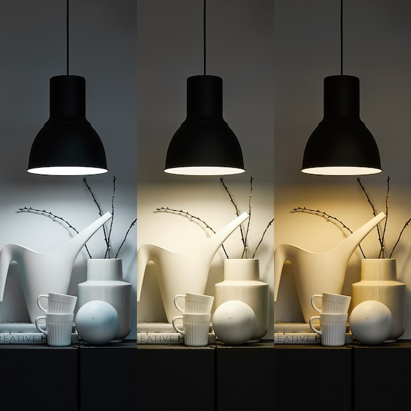 TRÅDFRI Led-lamp E14 600 lumen, draadloos dimbaar wit spectrum/globe opaalwit