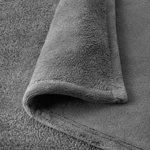 TRATTVIVA Sprei, grijs, 230x250 cm