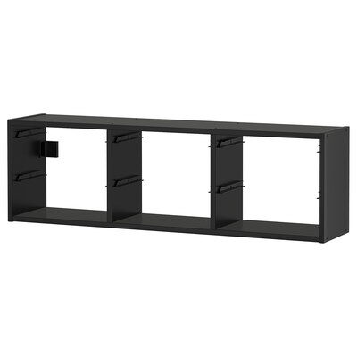 TROFAST Wandopberger, zwart, 99x21x30 cm