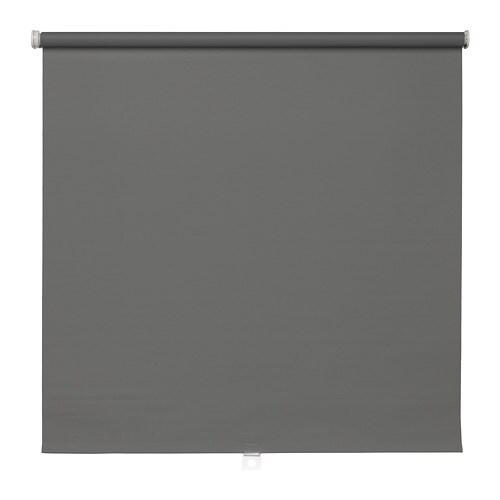 TUPPLUR Verduisterend rolgordijn Grijs 120 x 195 cm - IKEA