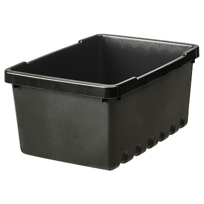 UPPSNOFSAD Opbergbak, zwart, 25x17x12 cm/4 l