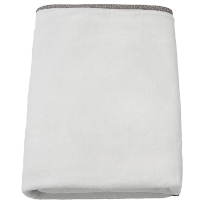 VÄDRA Aankleedkussenhoes, wit, 48x74 cm