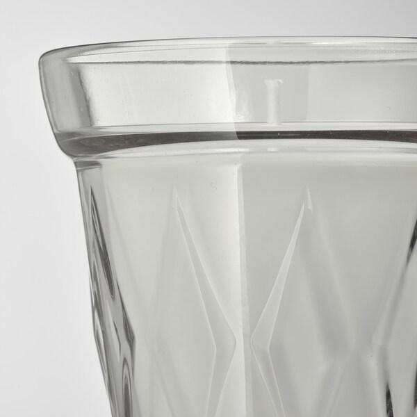 VÄLDOFT Geurkaars in glas, bloem/helder glas, 8 cm